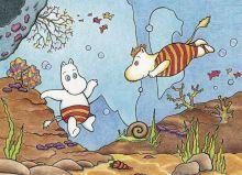 Почтовая открытка Подводный мир