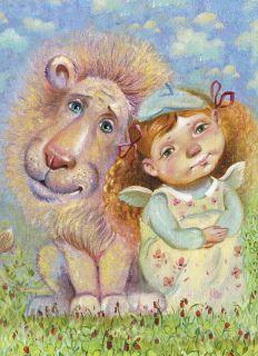 Почтовая открытка Мечтатели