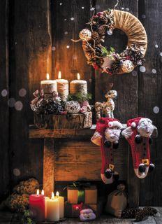 Почтовая открытка Рождественская сказка