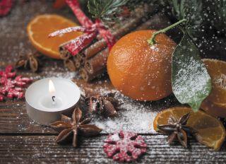 Почтовая открытка Рождественские пряности